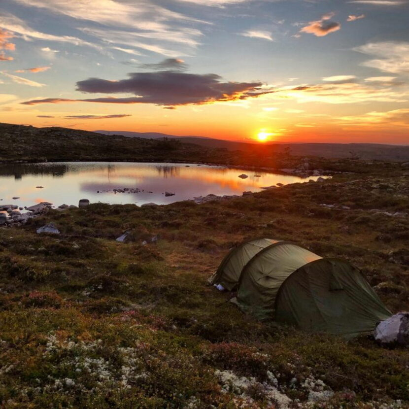 Fjelltur med telt - turmedlars.no - - -
